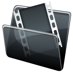 256x256px size png icon of Video Folder