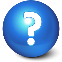 256x256px size png icon of Cute Ball Help