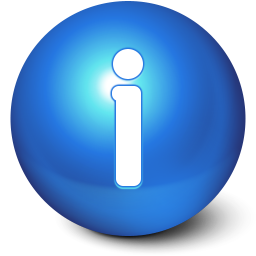 256x256px size png icon of Cute Ball Info