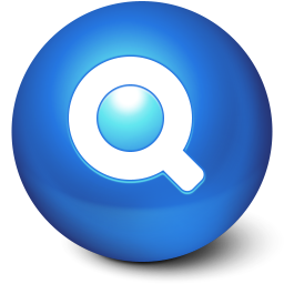 256x256px size png icon of Cute Ball Search