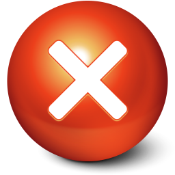 256x256px size png icon of Cute Ball Stop