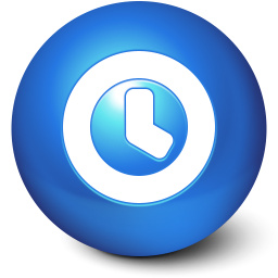 256x256px size png icon of Cute Ball Time