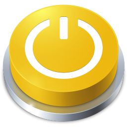 256x256px size png icon of Perspective Button Standby