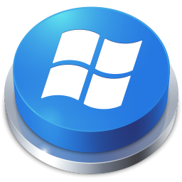 256x256px size png icon of Perspective Button Windows