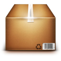 256x256px size png icon of Box