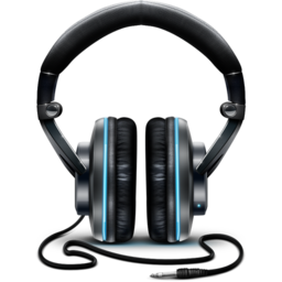256x256px size png icon of Headphones