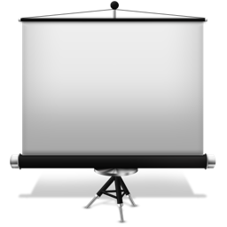 256x256px size png icon of Keynote off