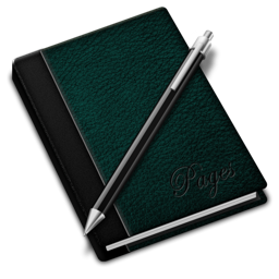 256x256px size png icon of Pages green