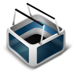 256x256px size png icon of Cart