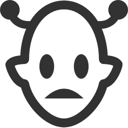 256x256px size png icon of Aliens Martian