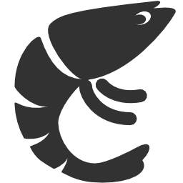 256x256px size png icon of Animals Prawn