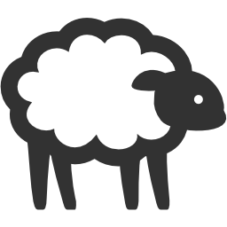 256x256px size png icon of Animals Sheep
