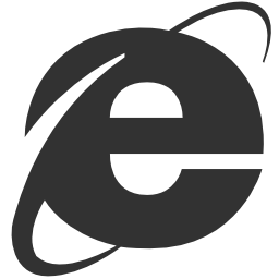 256x256px size png icon of Browsers Ie