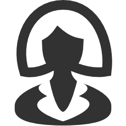 256x256px size png icon of Business Businesswoman