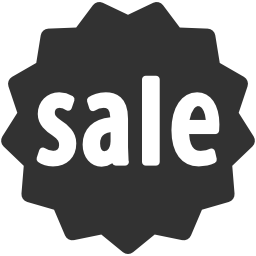 256x256px size png icon of Business Sale