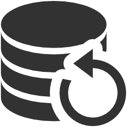 256x256px size png icon of Data Data backup