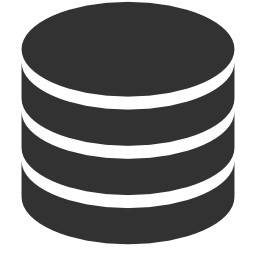 256x256px size png icon of Data Database