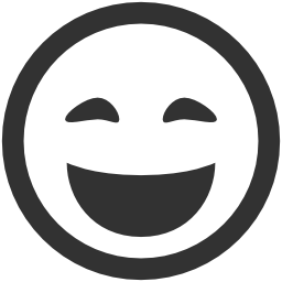 256x256px size png icon of Emoticons Lol