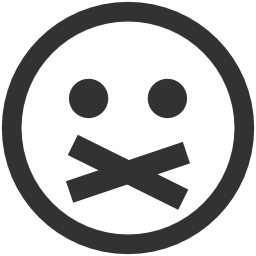 256x256px size png icon of Emoticons Private