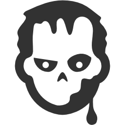 256x256px size png icon of Halloween Zombie