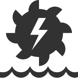 256x256px size png icon of Industry Hydroelectric