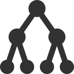 256x256px size png icon of It Infrastructure Active directory