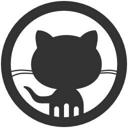 256x256px size png icon of Logos Github