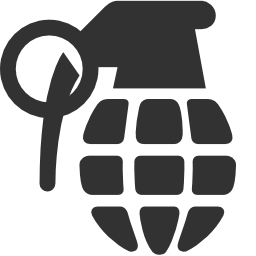 256x256px size png icon of Military Grenade