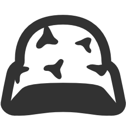 256x256px size png icon of Military Helmet