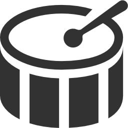 256x256px size png icon of Music Bass drum