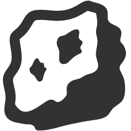 256x256px size png icon of Rock Paper Scissors Rock