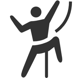 256x256px size png icon of Sport Activities Climbing