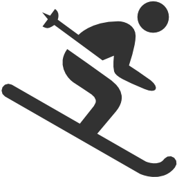 256x256px size png icon of Sport Activities Skiing