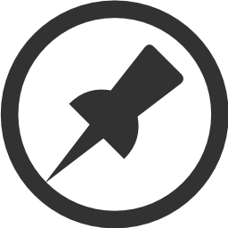 256x256px size png icon of System Pin2