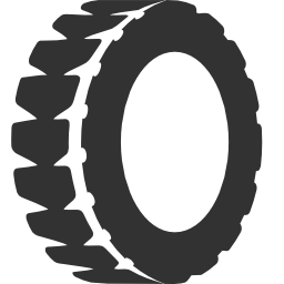 256x256px size png icon of Transport Tire
