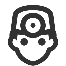256x256px size png icon of Users Doctor