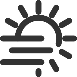 256x256px size png icon of Weather Fog day