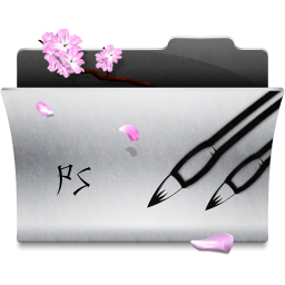 256x256px size png icon of Folder Photoshop