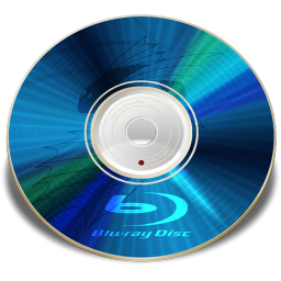 256x256px size png icon of Hardware Blu ray disc