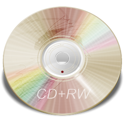 256x256px size png icon of Hardware CD plus RW