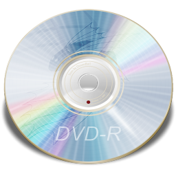 256x256px size png icon of Hardware DVD R