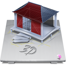 256x256px size png icon of Software 3D