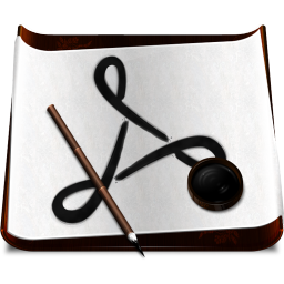 256x256px size png icon of Software Acrobat