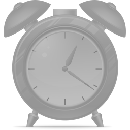 256x256px size png icon of Alarm clock disabled