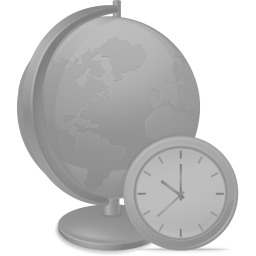 256x256px size png icon of Network time disabled