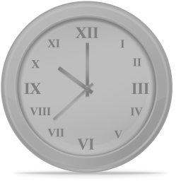 256x256px size png icon of Time disabled