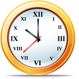 256x256px size png icon of Time