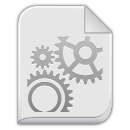 256x256px size png icon of app x executable