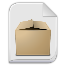 256x256px size png icon of app x gzip