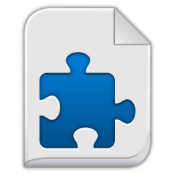 256x256px size png icon of extension